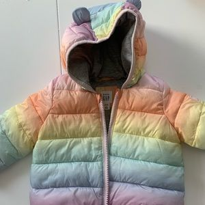 NWOT baby gap primaloft 12-18 months jacket